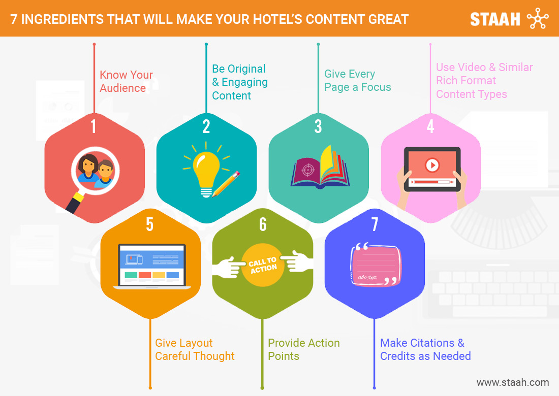 7 Ingredients That Will Make Your Hotel's Content Great