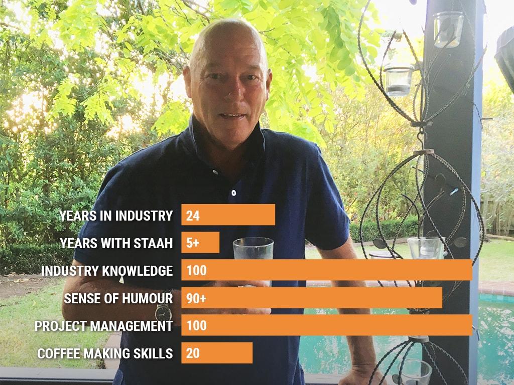 John Clune, Director of STAAH Australia