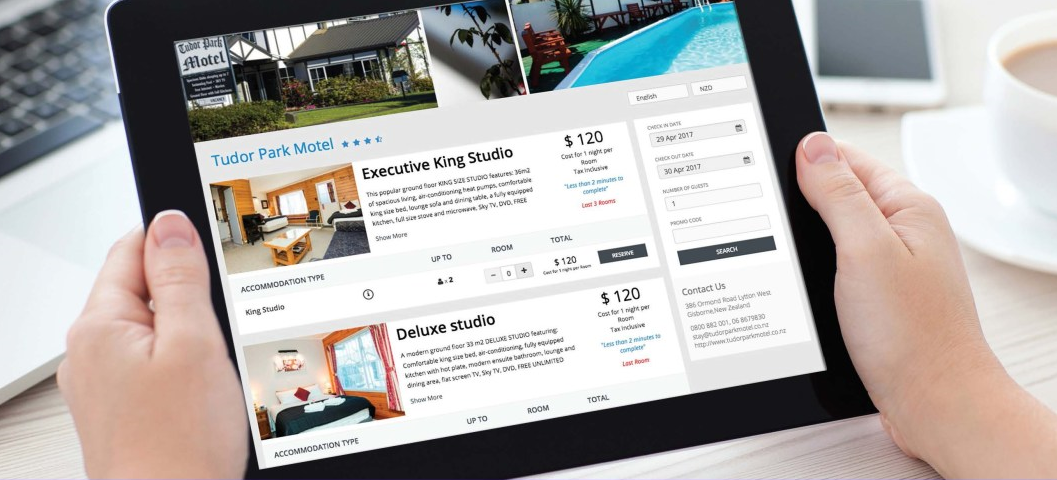 STAAH convert direct booking engine