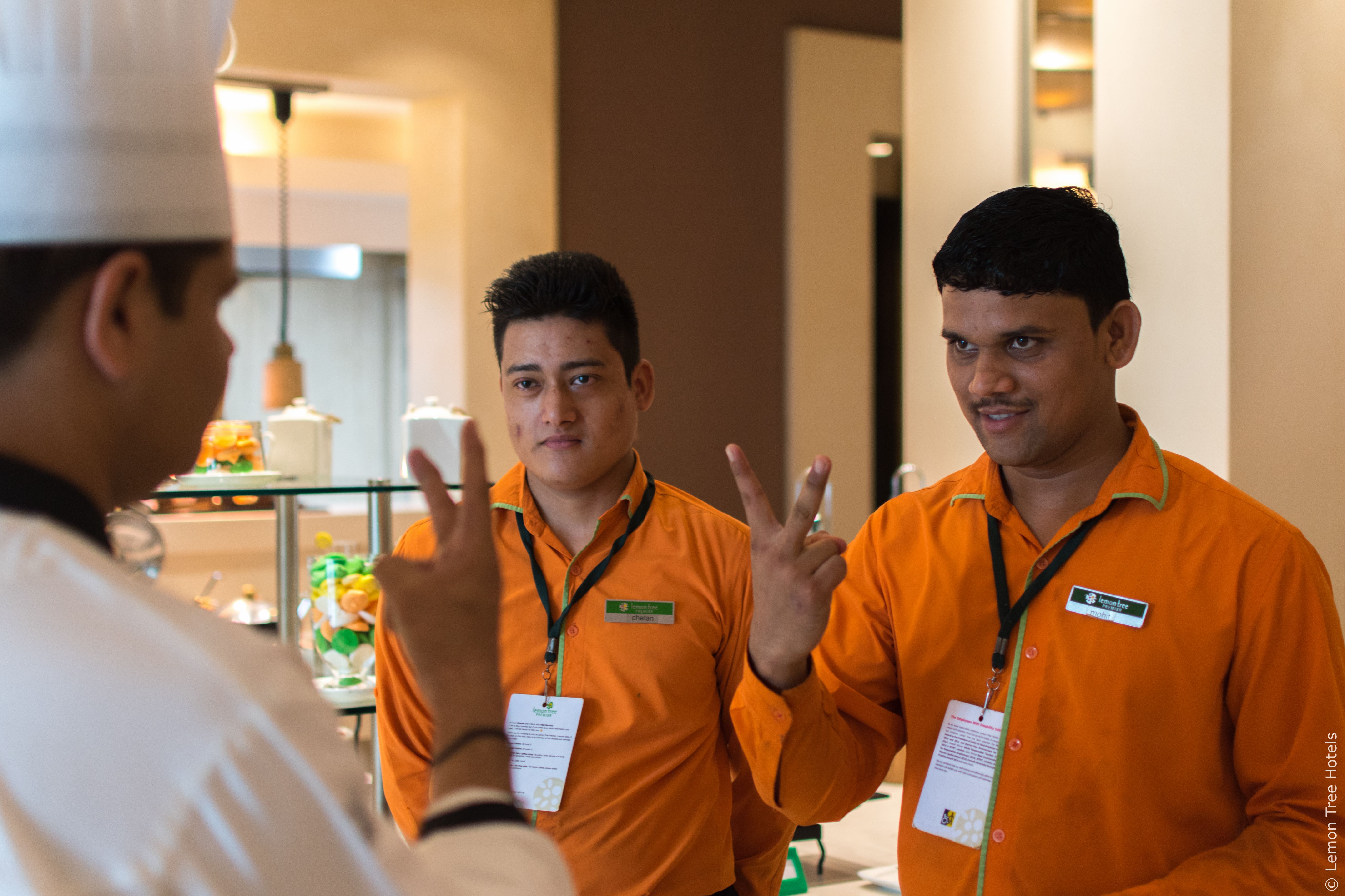Lemon Tree Hotels Inclusiveness Staff - STAAH