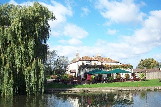 The hotel Katie's mum managed. The Bridge in Cambridgeshire.