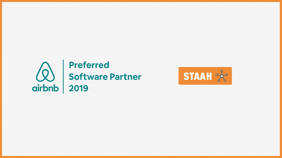 Airbnb Recognizes STAAH as their Preferred Software Partner