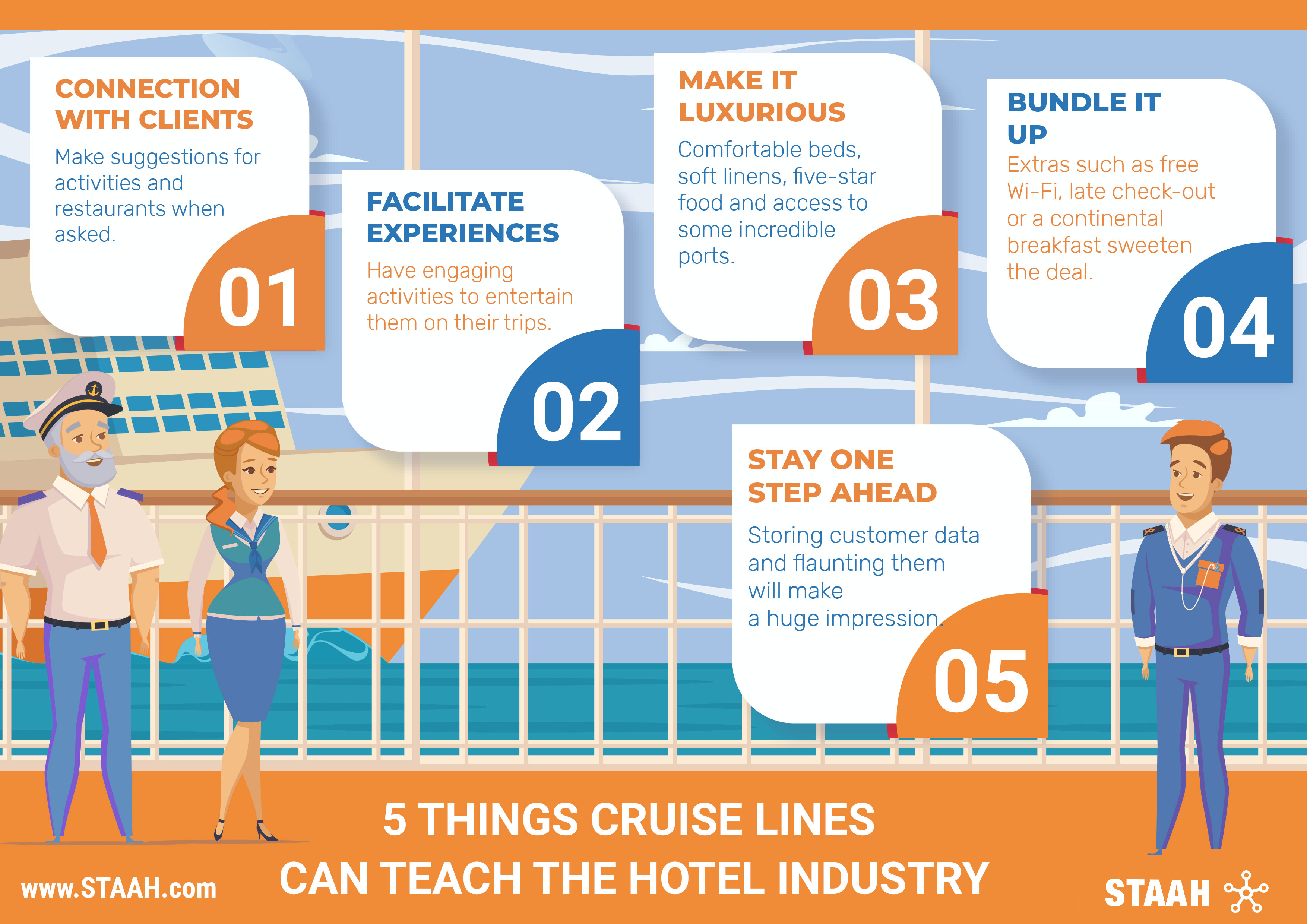 5 Things Cruise Lines Can Teach the Hotel Industry