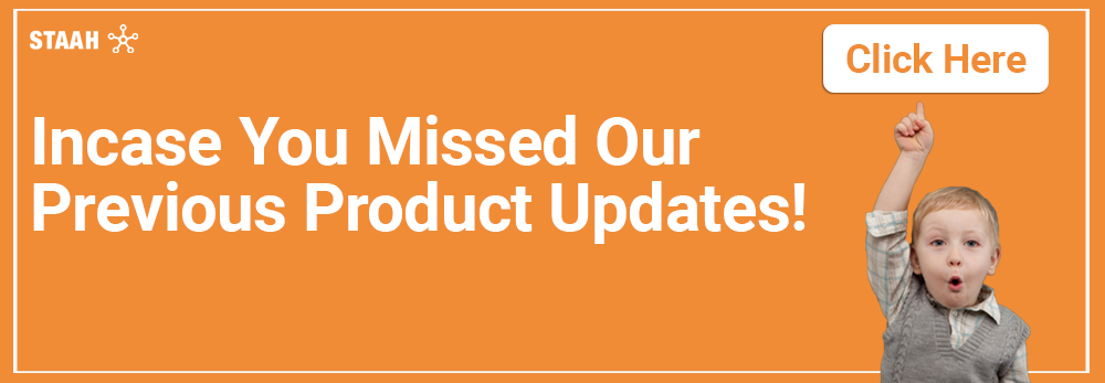 STAAH New Product Updates You Can't Miss - October 2019