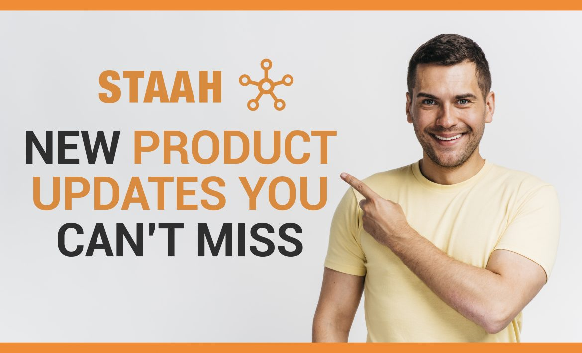 STAAH NEW PRODUCT UPDATES
