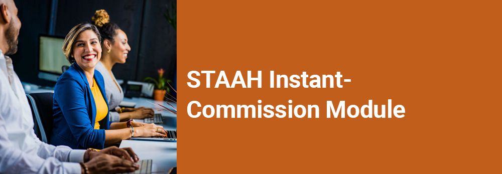 STAAH Instant Commission Module