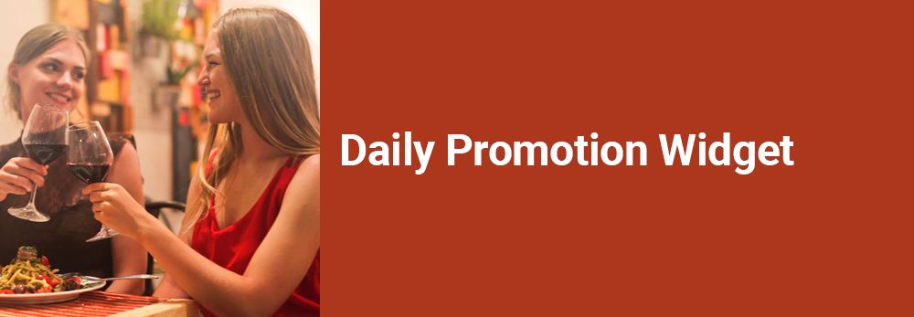 Daily Promotion Widget