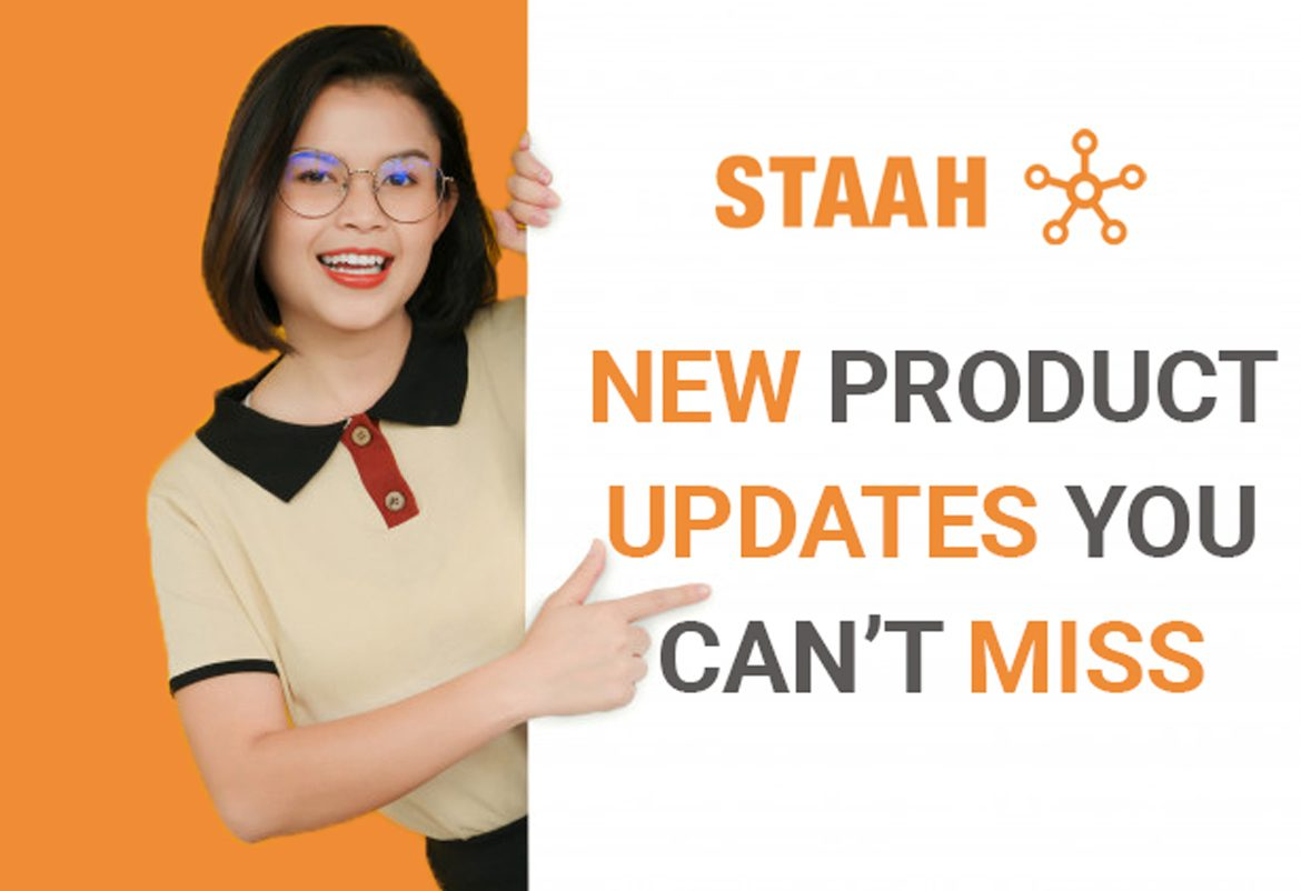 STAAH NEW PRODUCT UPDATES YOU CAN'T MISS – APRIL 2020