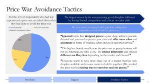 Price War Avoidance Tactics